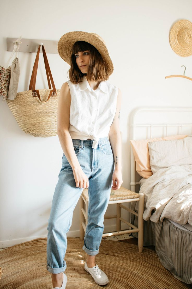 Vintage Spring Lookbook Calico And Twine In 2020 Clothes Sustainable Clothing Aesthetic Clothes