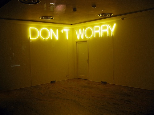 Don't Worry ~ Neon Lights by AngelaKeochrn, via Flickr