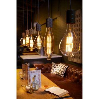 Calex Retro Pendel E40 antiek brons | Hanglampen | Verlichting | KARWEI