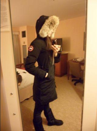 Canada Goose KENSINGTON PARKA WOMEN'S STYLE. #dailyglam #winter