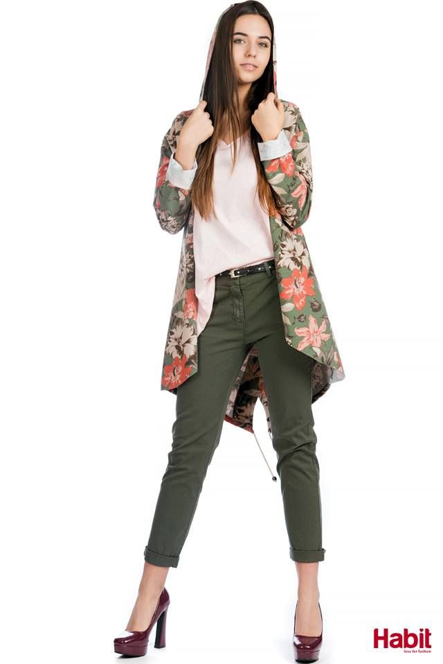 Ζακέτα allover print. • Κωδικός: 702033 • Τιμή: 21,99 € • Χρώμα: Φλοράλ, Καμουφλάζ • Μέγεθος: One Size  T-shirt basic με V. • Κωδικός: 702048 • Τιμή: 9,99 € • Χρώμα: Ρόζ, Χακί, Ίντιγκο, Λευκό, Μαύρο, Γαλάζιο, Γκρί • Μέγεθος: One Size  Υφασμάτινο παντελόνι. • Κωδικός: 703042 • Τιμή: 23,99 € • Χρώμα: Χακί, Ρόζ, Μπλέ Σκούρο, Λευκό, Μαύρο • Μέγεθος: S-XXL  (online shopping loading... 📻 stay tuned) #habit #fashion #habitfashion #loveforfashion #everyday #somethingnew #tops #denim #laceup #tencel…