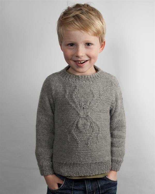 cute spider-sweater