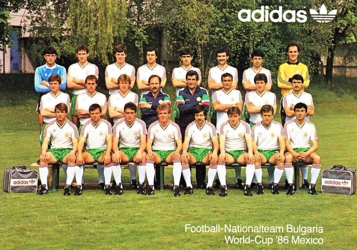 Bulgarian team at the 1986 World Cup