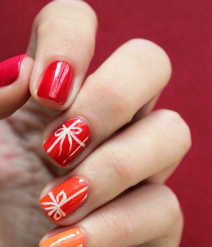 60 best Nail Art: Holidays images on Pinterest | Christmas nail art ...