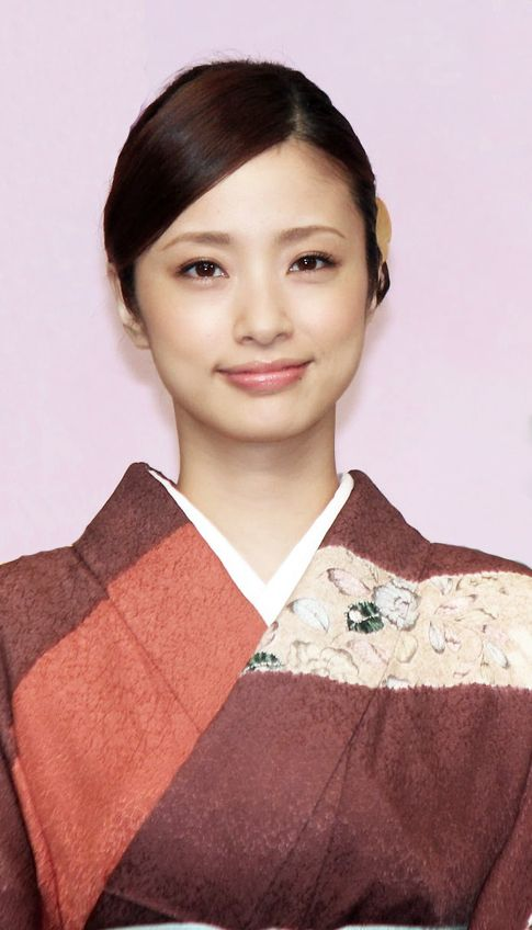 Actress Aya Ueto in kimono.  Japan