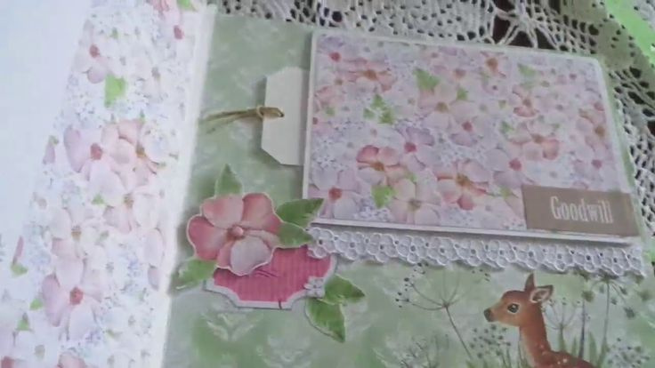 "Album foto scrapbook "" My love ""  Shabby /  Scrapbooking"