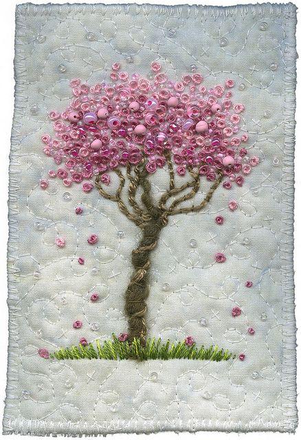 Kirsten Chursinoff fabric art