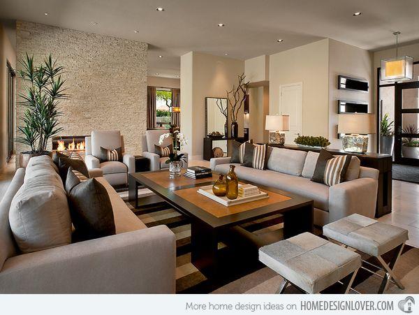 modern living room ideas - Google Search