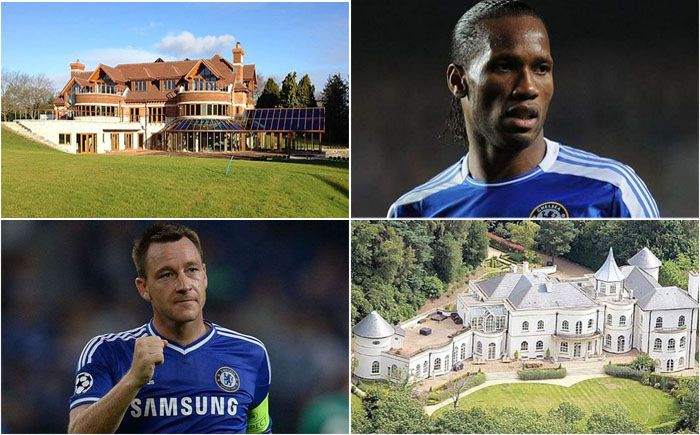 Most Expensive Homes of Famous Footballers