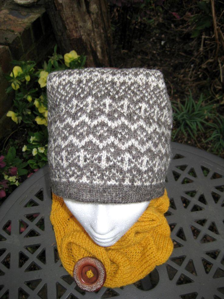 7 best fair isle hats images on Pinterest | Shetland wool, Arm ...