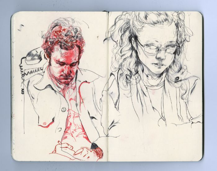 James Jean is an incredibly talented artist who immortalizes exceptional sketches in his Moleskine notebook, a selection that gives you a sense of …