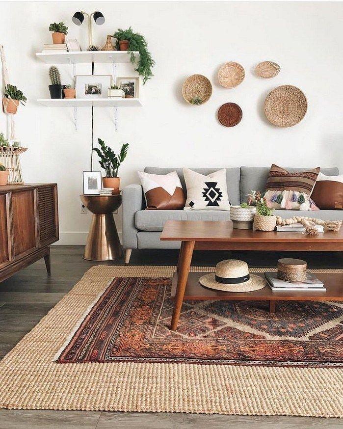 98 A Bohemian Mid Century Modern Living Room Like No Other | texasls.org #midcen… , #Bohem…