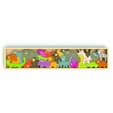 BeginAgain Animal Parade Puzzle, $70 | Best Toys for Kids - Parenting.com