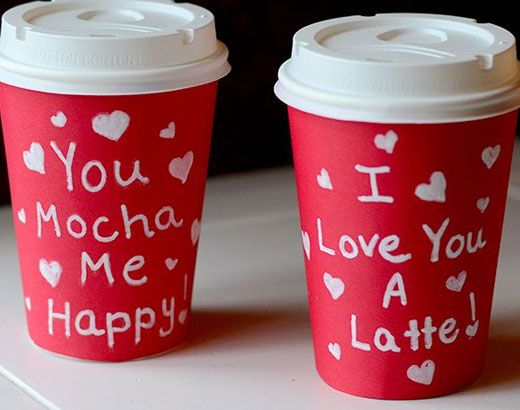 Valentine Gift Ideas for Boyfriend - For the Coffee Lover - Click Pic for 40 DIY Valentine Gift Ideas for Husband