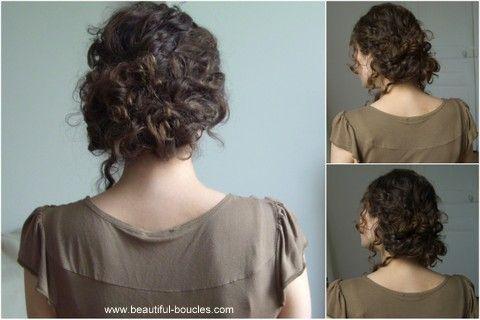 Chignon bouclé, flou, décoiffé Girl's Stuff Hair
