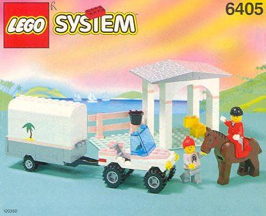LEGO 6405-1: Sunset Stables
