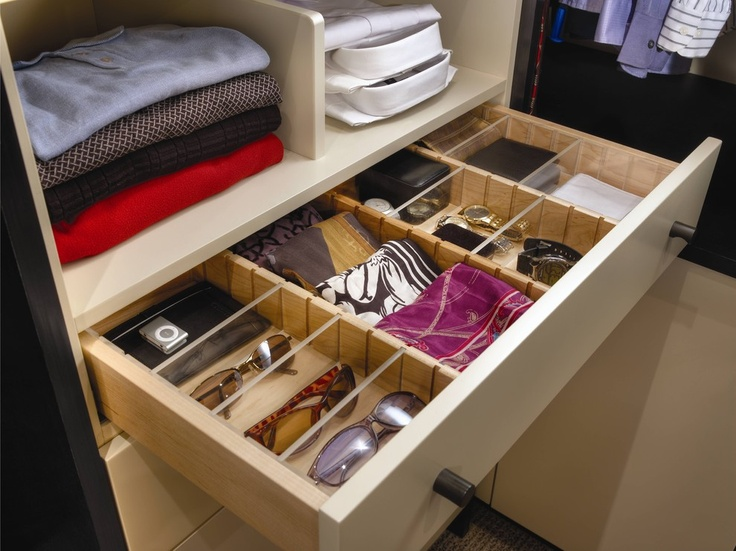 Linear Solutions Closet By Wood Mode   Contemporary   Closet   Houston    Cabinet Innovations