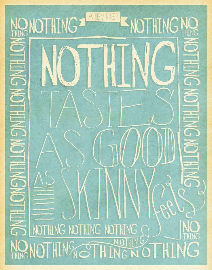 weight watchers motto.