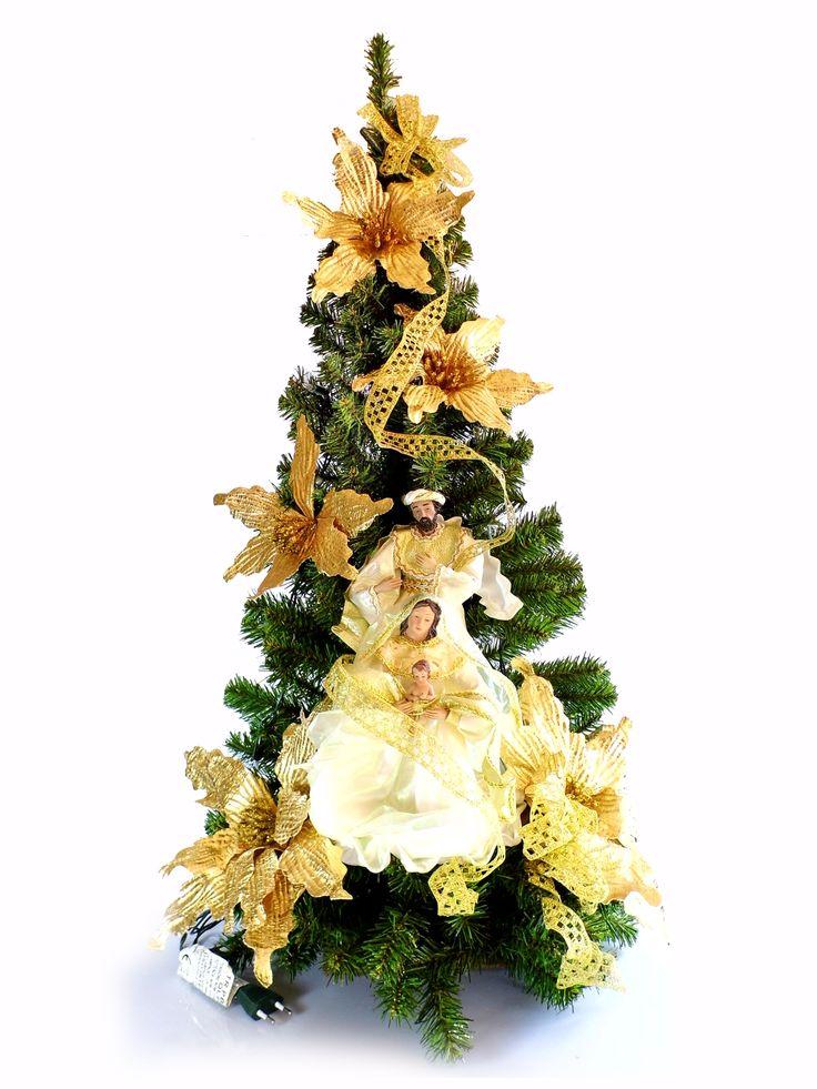 Albero di Natale con statue Natività modello Zaffiro   Albero di natale sintetico, con luci, statue Natività e decori floreali   DIMENSIONI larghezza cm 50 profondità cm 50 altezza cm 100   CARATTERISTICHE collana n. 20 luci bianche (tonalità calda, alimentazione 220 V) statue in resina con vestiti in stoffa ed organza  Disponibile al seguente link  http://www.ovunqueproteggimi.com/collezione-statue/articoli-natalizi/alberi-di-natale/