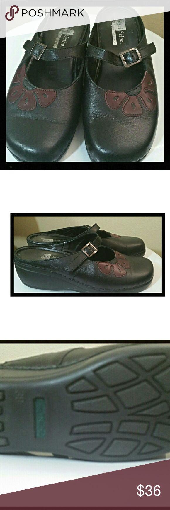 Josef Seibel Mary Jane shoes.....size8 European Comfort shoe. Lots of wear left. Nice shape. Josef Seibel Shoes Mules & Clogs