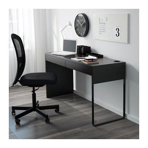 micke escritorio negromarrn
