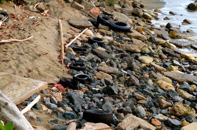La crisis con la disposición de gomas usadas es una de las causas para la epidemia de dengue que azota la isla. Foto José E. Maldonado / www.miprv