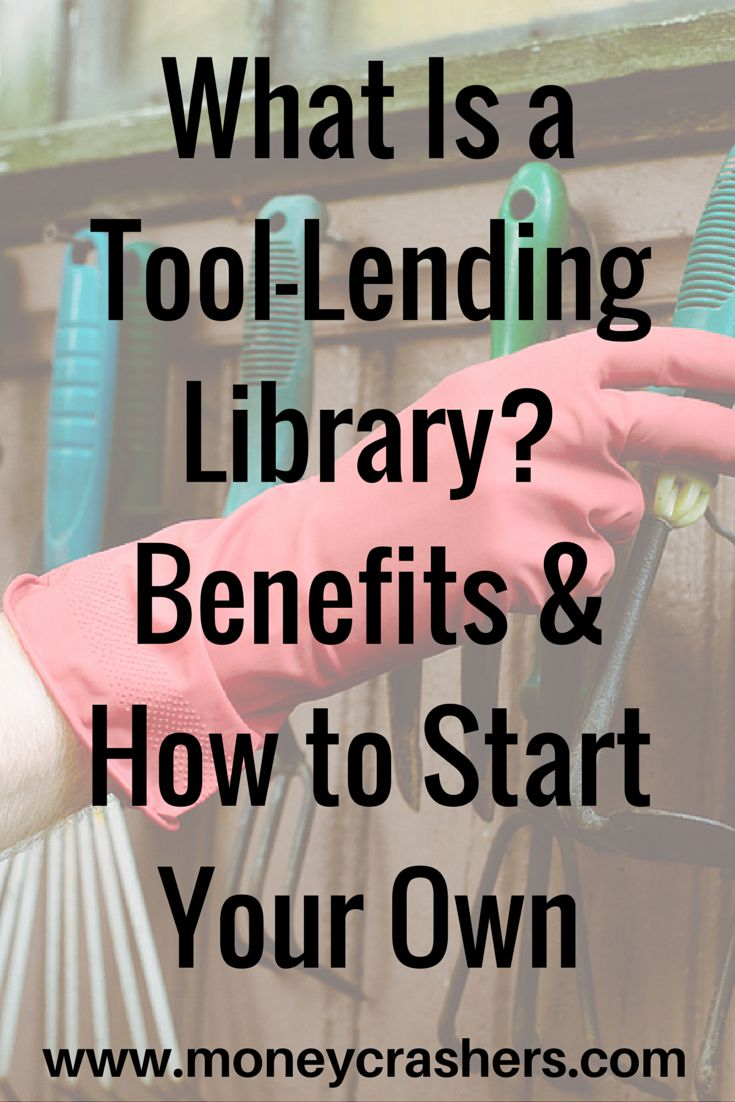 A tool-lending library is just like a regular public library, except instead of books, it has a large collection of tools – gardening tools, woodworking tools, home repair tools, and more. Once you join a tool library, you can simply check out any of these tools whenever necessary. You don't have to buy or rent new tools for every home project, and you don't have to find space in your house to store a lot of tools you hardly ever use.