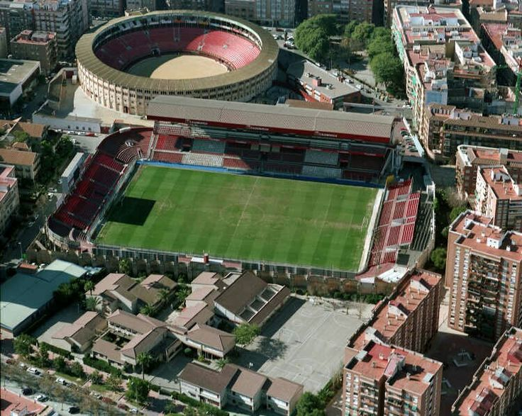 La Condomina Stadium (Murcia, Spain) By Justo Millán