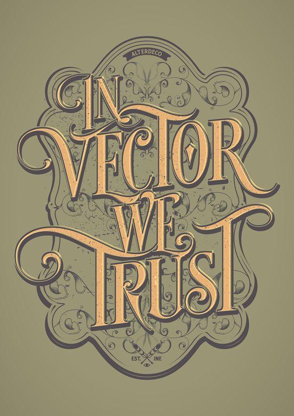 In Vector We Trust by adit saputra