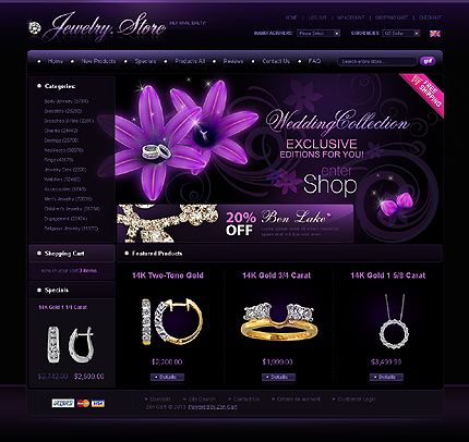17 Best images about Jewelry website layouts / Tags / product ...