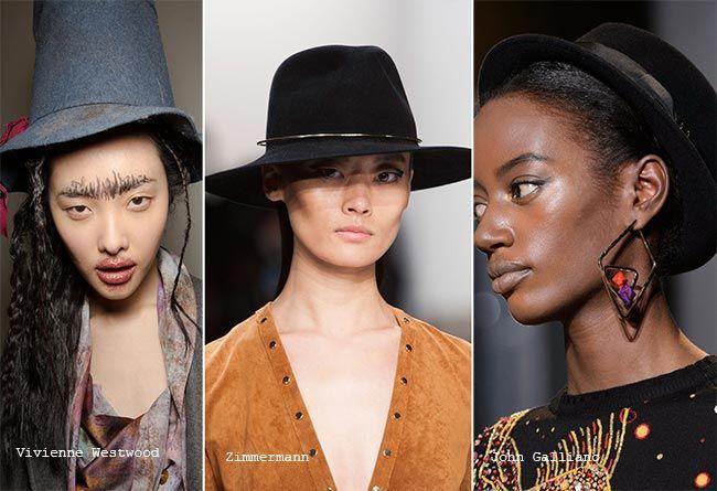 Модные шляпы зима 2015-2016