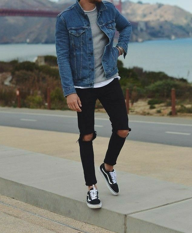 fashion casual outfits, Vans outfit men