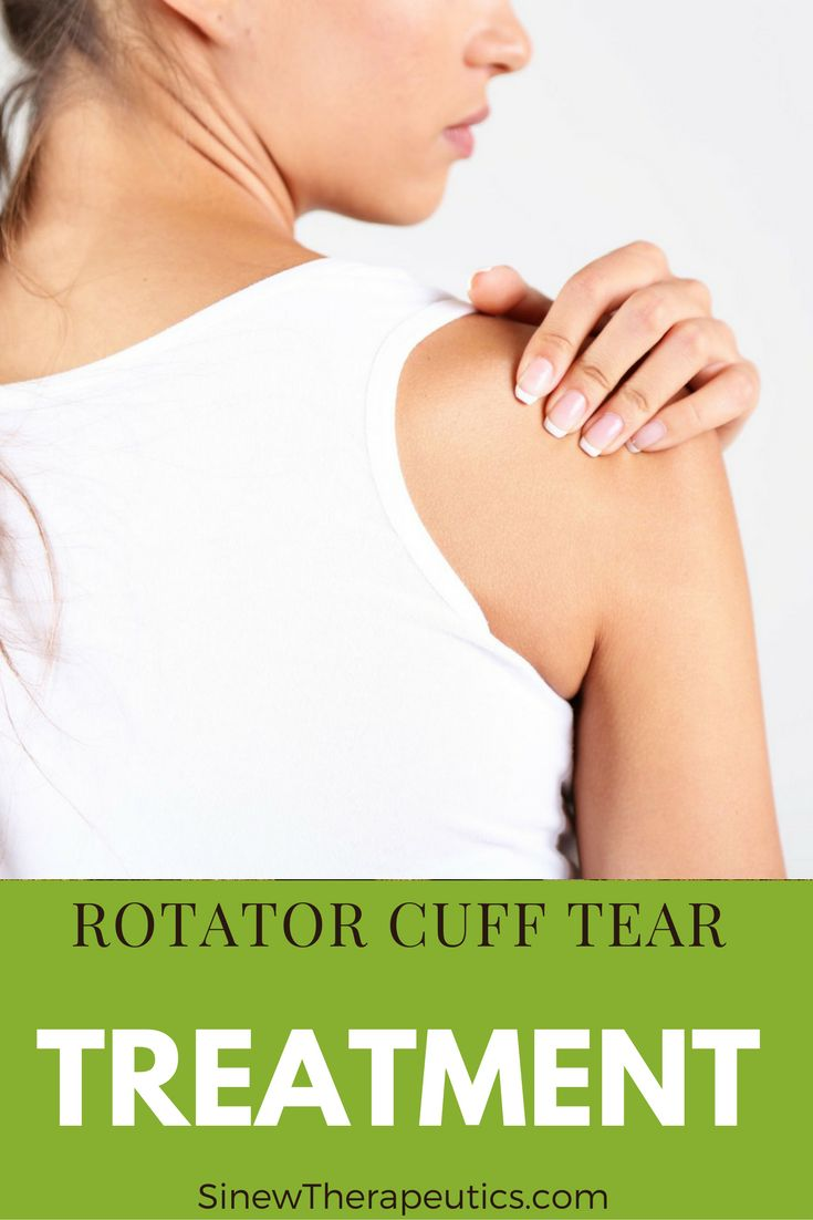 Rotator Cuff Tear Treatment - Soak your shoulder with the Sinew Relaxing Soak to relax muscles and tendons that are in spasm, ease joint pain and stiffness, and improve range of motion. Herbal soaks are a form of hydrotherapy used for centuries in Chinese medicine. The Sinew Relaxing Soak is particularly useful if you feel restricted mobility in your shoulder. Learn more at SinewTherapeutics.com