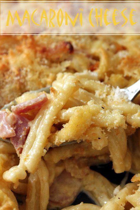 Macaroni & Cheese with Bacon