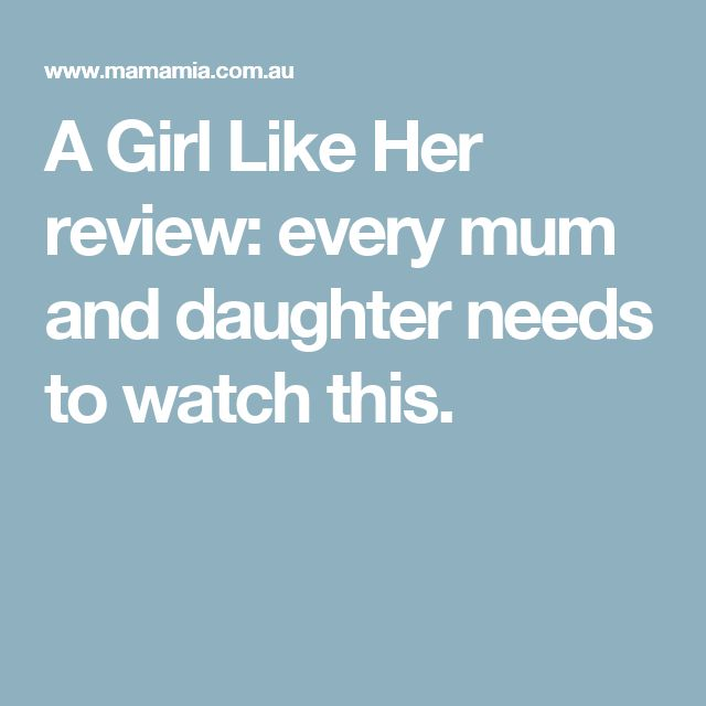 A Girl Like Her review: every mum and daughter needs to watch this.