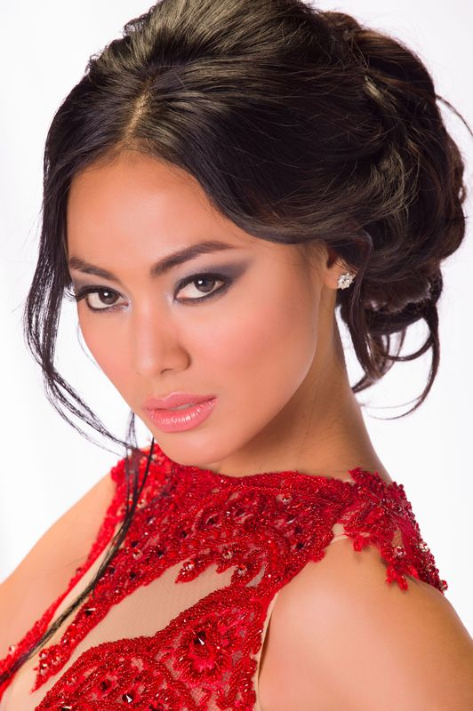 Miss Indonesia Whulandary Herman