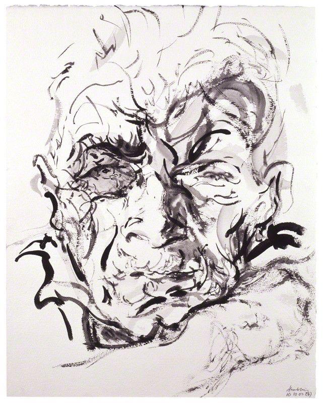 John Berger by Maggi Hambling .
