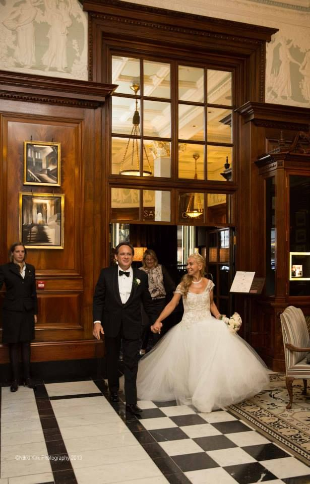 London Wedding at The Savoy Hotel Planned