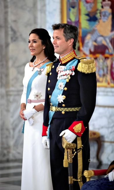 2016 New Years Court: Crown Prince Frederik and Crown Princess Mary 1/5/2016