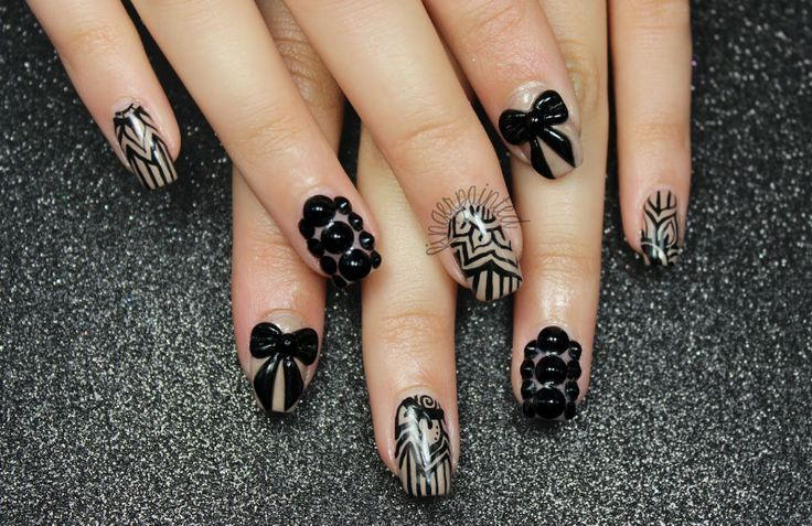 Nails Art: 17 Best Images About Night Out Nails On Pinterest