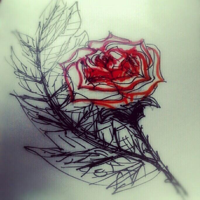 Rose by lina k.