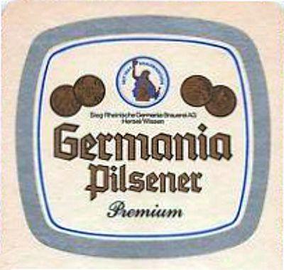 Germania Pilsener - nach Pilsener Brauart