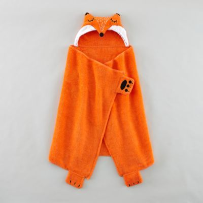 How Do You Zoo Hooded Towel (Fox) | The Land of Nod. Doesn't have to be this exact one, it's kind of pricey, but something like this for his swimming classes. It's cold in the winter to go from the water to the locker room. A roomy towel with a hood for bundling up.