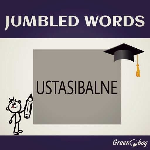 #GreenoBag. Can you guess the #jumbled #word?