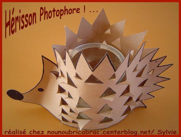 Hérisson Photophore
