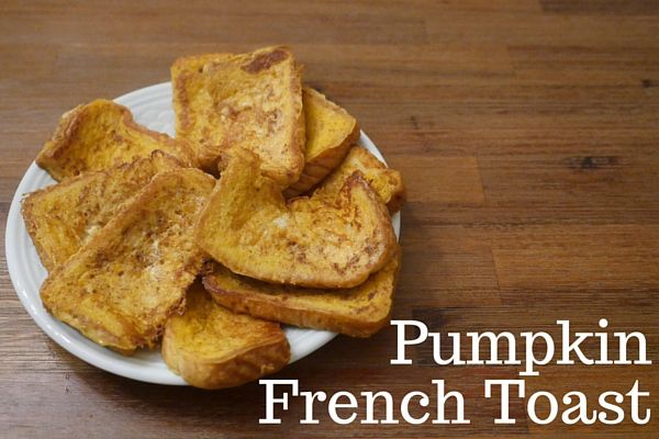 Pumpkin French Toast  Breakfast  Pinterest  Pumpkin french toast, Led wean...