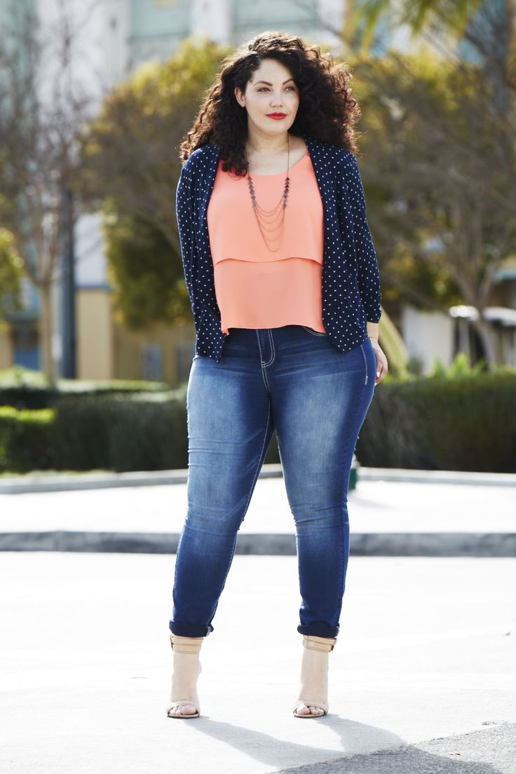 Girl with Curves in her maurices FAVES.