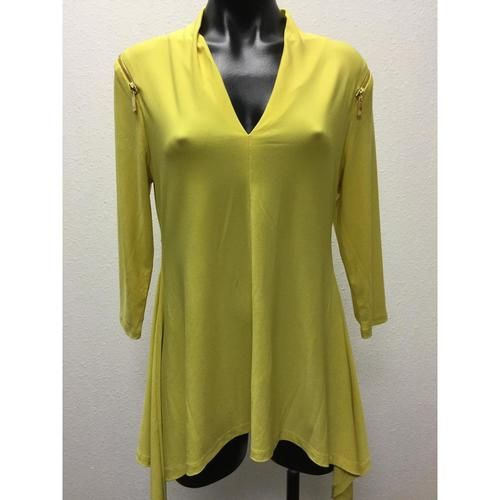 Chaus Yellow Blouse Medium