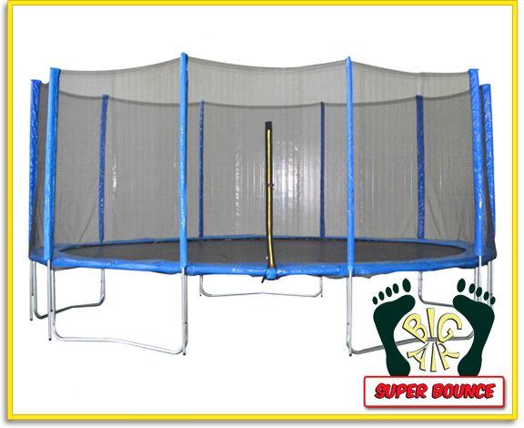 Big Air Super Bounce 16ft Trampoline + Safety Enclosure