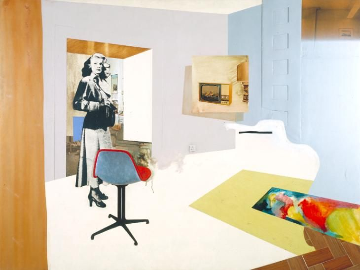 Richard Hamilton 'Interior II', 1964 © The estate of Richard Hamilton